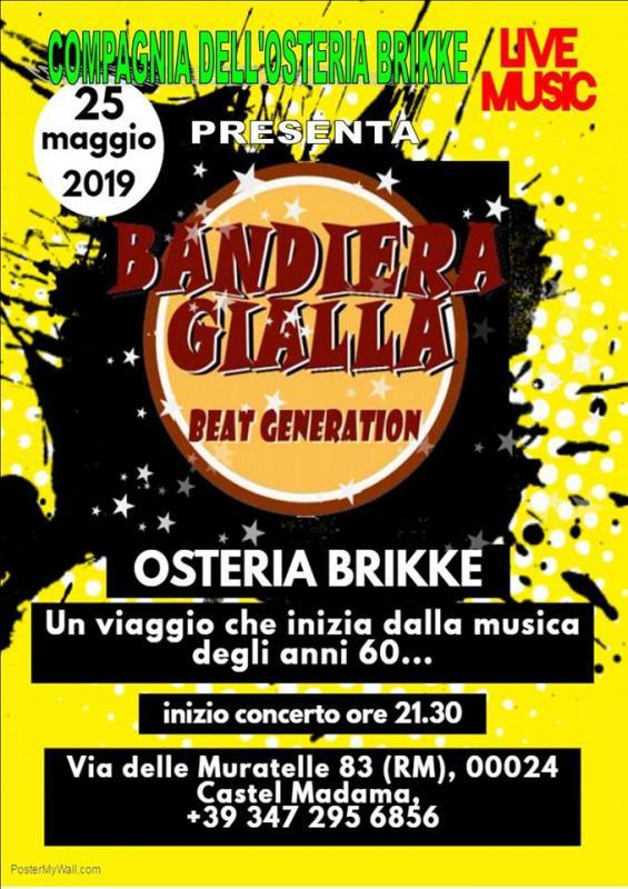 copertina evento FESTA Dell'arrosticini da Osteria Brikke - Castel Madama (RM)
