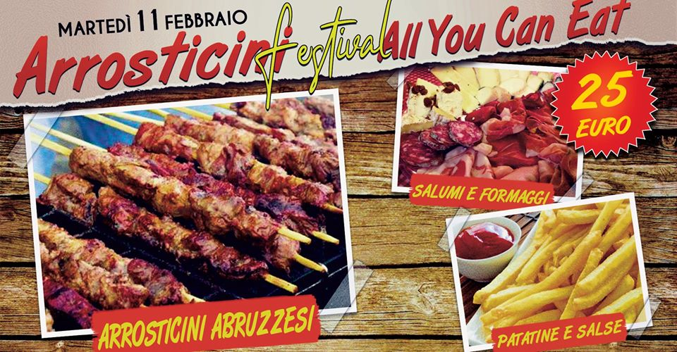 Arrosticini Abruzzesi ALL YOU CAN EAT