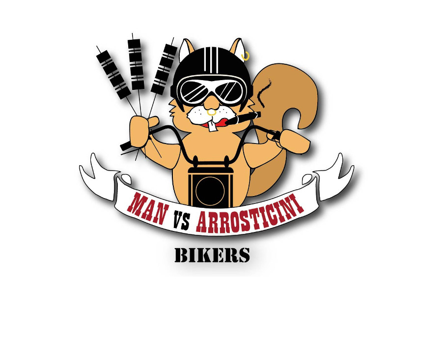 copertina di Man vs Arrosticini Bikers - AMATRICE