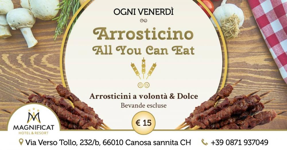 copertina di Arrosticino - All You Can Eat