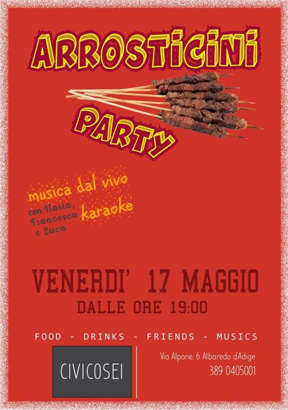 Arrosticini PARTY da CIVICOSEI - Albaredo d'Adige (VR)