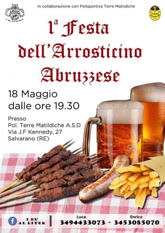 1^ Festa dell' arrosticino Abruzzese di I Du Al Liter - Salvarano (RE)
