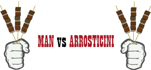 Man vs Arrosticini logo
