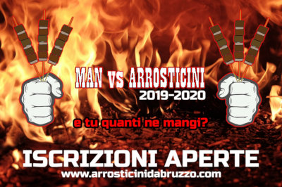 banner Man vs Arrosticini 2019 2020