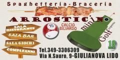 Arrosticino Spaghetteria Minigolf logo