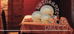 I tre piatti logo