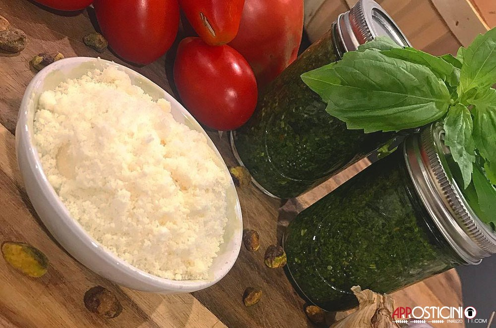 fresh tomato parmesan and basil cucina abruzzese italian food NYC New York