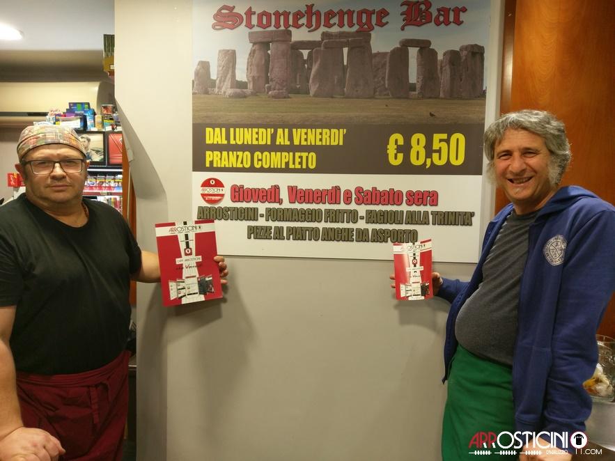 proprietari del bar Stonehenge Teramo Abruzzo