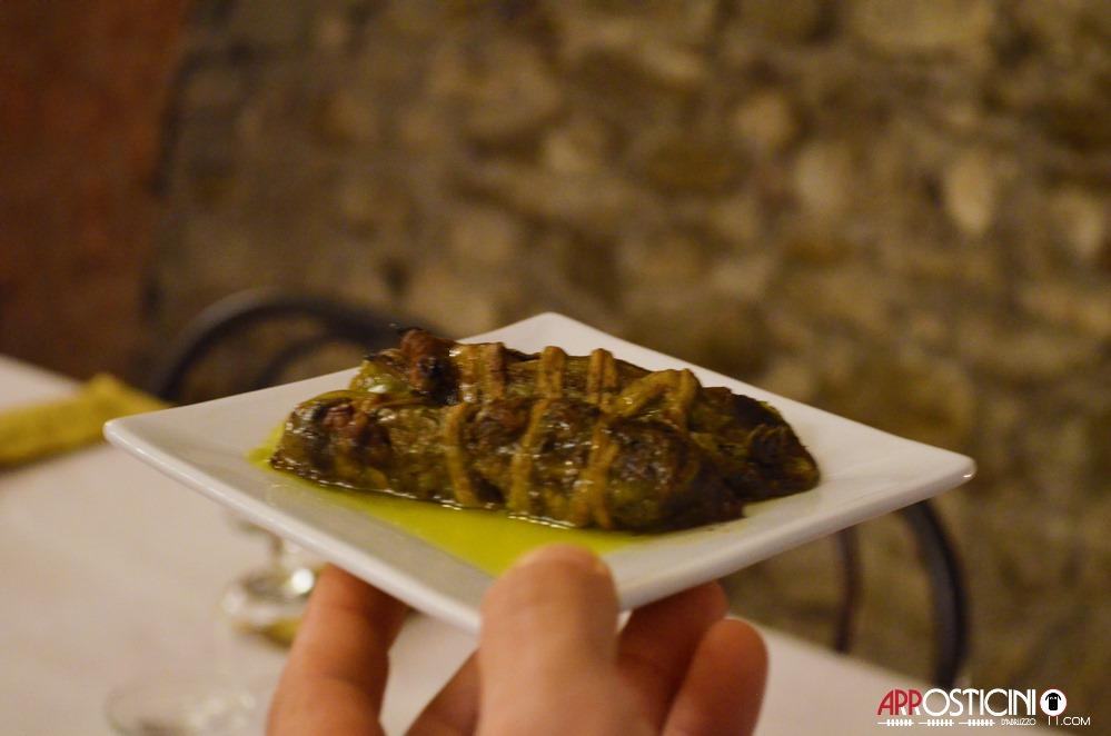 mazzarelle teramane osteria Strabacco Teramo, Abruzzo