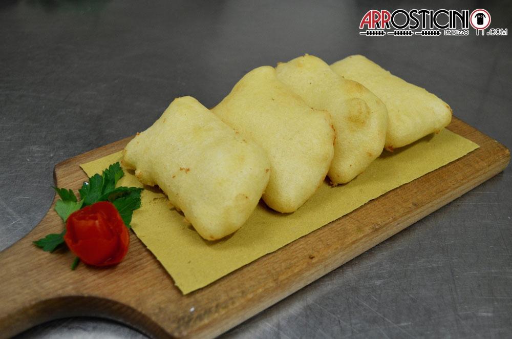 Antipasto Condito formaggio fritto