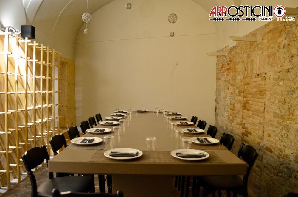 sala privata cene condito