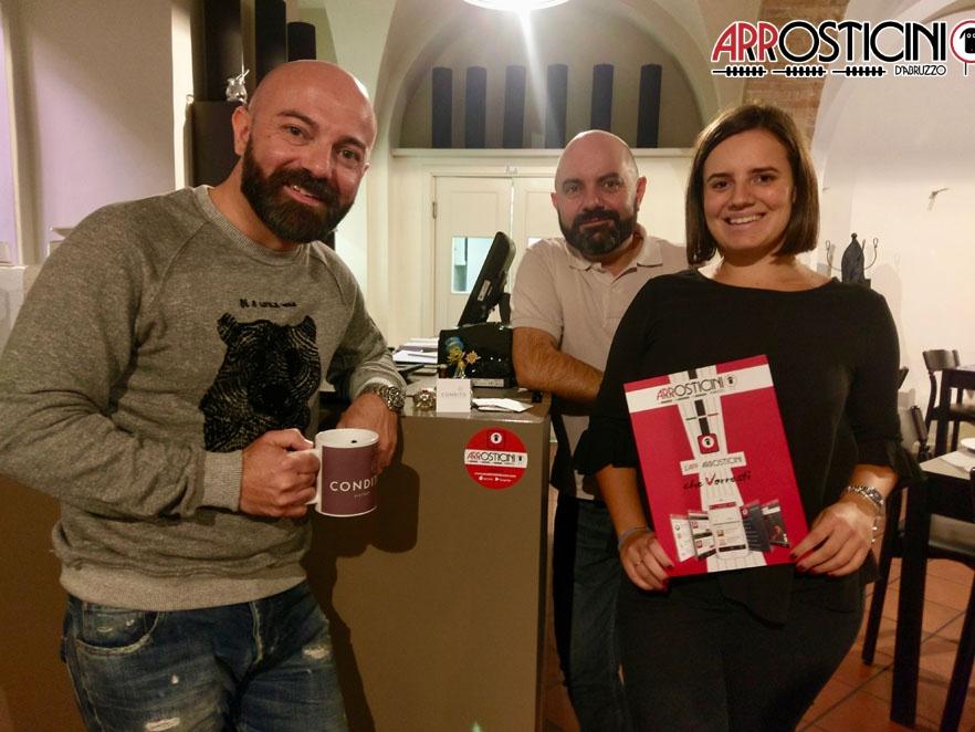 staff condito con bollino arrosticini D'Abruzzo