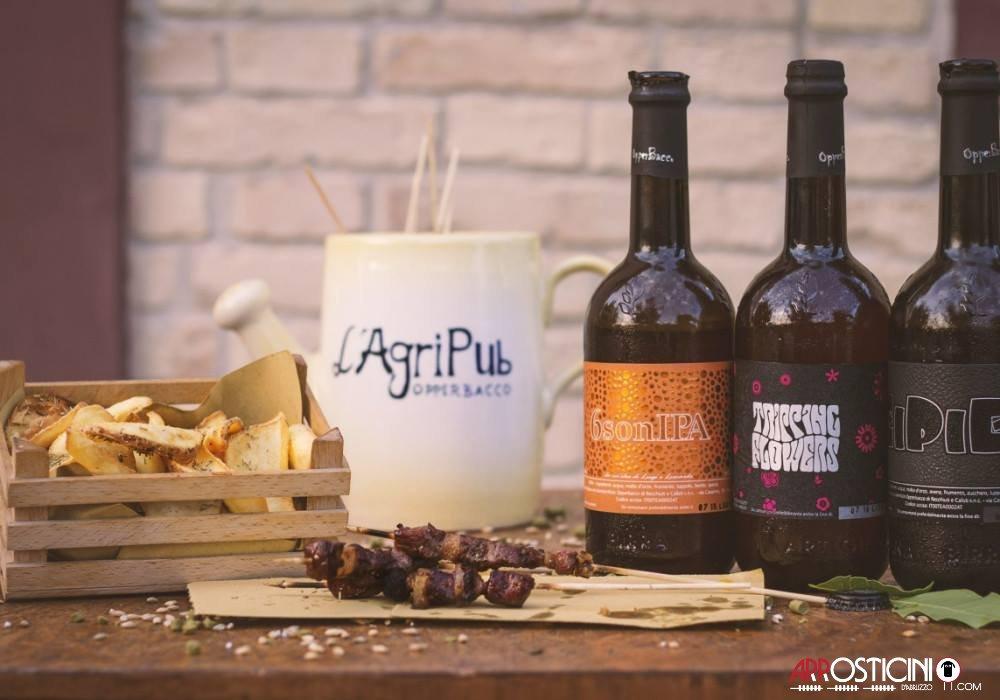 vino arrosticini patatine agripub opperbacco notaresco teramo abruzzo